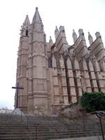 Palma Cathedral From The Side